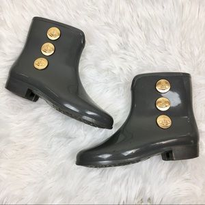 Vivienne Westwood X Melissa Grey Rain Boots 7